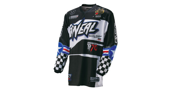 ONeal Element Afterburner jersey lange mouwen Heren zwart